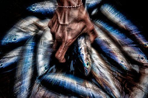 Vismarkt op Bali