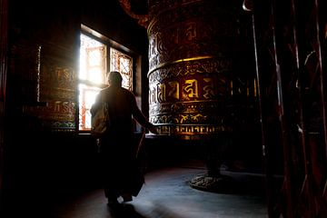 Gebedswiel in Nepal
