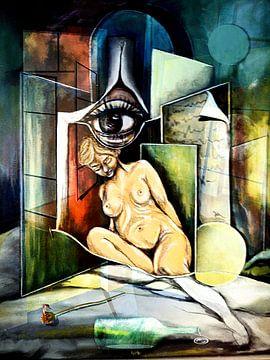 De vrouw bij het raam van Gertrud Scheffler