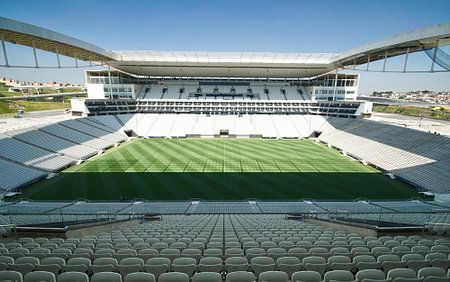 Stadion Corinthians São Paulo Brazilië