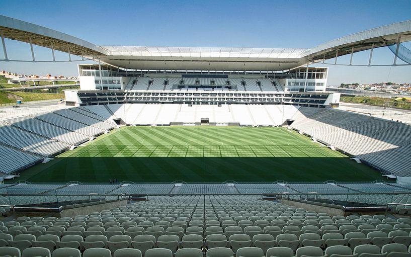Stadion Corinthians São Paulo Brazilië van Remy De Milde