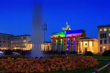 La Porte de Brandebourg : Berlin sous un jour particulier sur Frank Herrmann