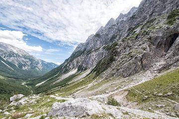 Vrata vallei Slovenie von Cynthia van Diggele