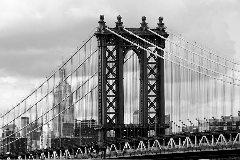 new york city ... manhattan bridge trilogy I sur Meleah Fotografie