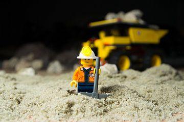 Lego grondwerker van Leonard Boshuizen