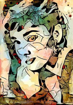 Audrey Hepburn. van zam art