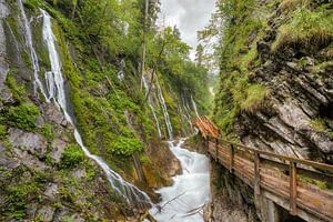 Wimbach gorge in Bavaria
