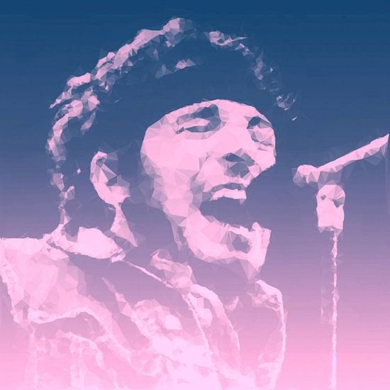 Bruce Springsteen Illustration Pop Art