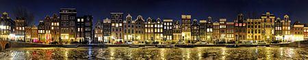 Amsterdam Rosse Buurt Panorama van Panorama Streetline