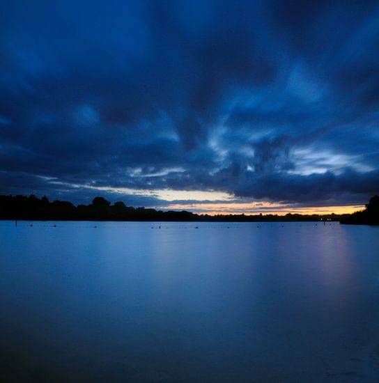 Blue Calm II van Martijn Schornagel