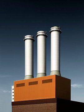 Berlin – Charlottenburg Power Plant van