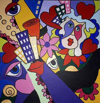 Flower Power von Anja  Bulté