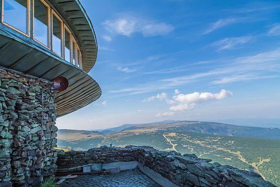 KARKONOSZE View from the summit of ?nie?ka van Melanie Viola