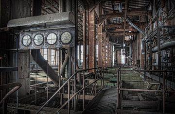 Verlassenes Kraftwerk 8 von Eus Driessen