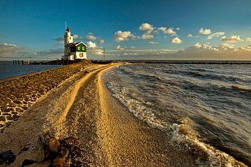 Le phare Marken Pays-Bas sur Peter Bolman