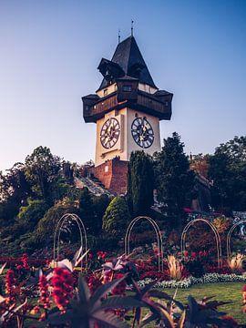 Grazer Uhrturm von Alexander Voss