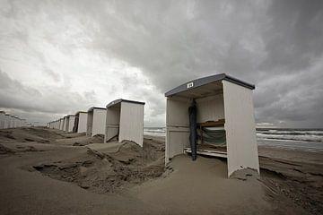 strandhuisjes katwijk sur