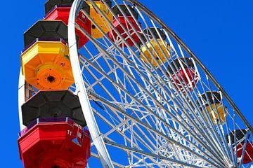 Reuzenrad Santa Monica Pier van