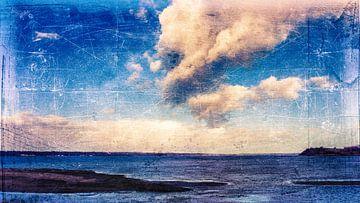 Wolken und MeerBlau