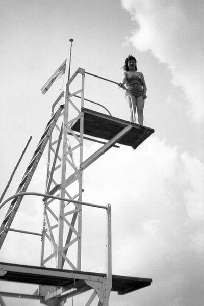 Gonna Jump jaren '30 van Timeview Vintage Images