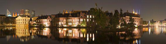 Panorama Binnenhof Den Haag van Anton de Zeeuw