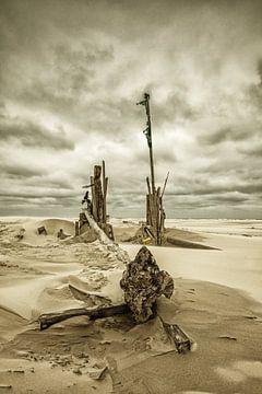 Beach Debris von Nanouk el Gamal - Wijchers (Photonook)