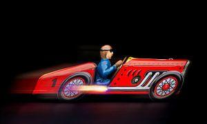 Rode racewagen 2194