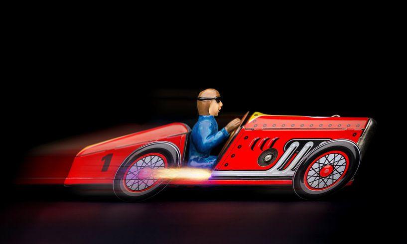 Rode racewagen 2194 van Rudy Umans
