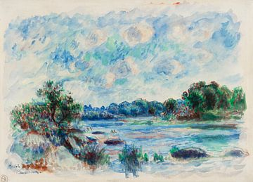 Landschaft bei Pont-Aven, Renoir (1892)