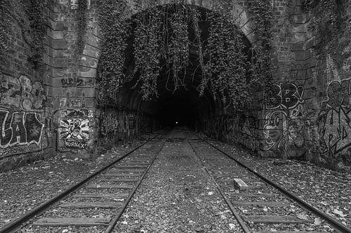 Het verlaten spoor in Parijs