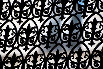 Schmiedeeisen-Zäune in Frankreich von Ivonne Wierink