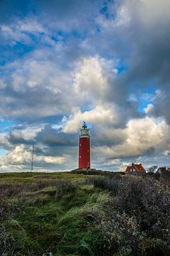 Eierland Leuchtturm auf Texel von Ricardo Bouman