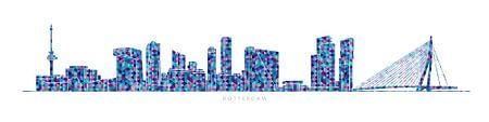 Rotterdam Skyline von Harry Hadders