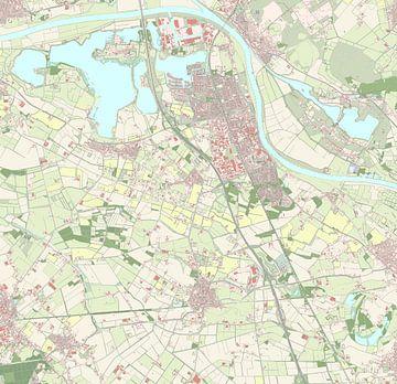 Kaart vanCuijk