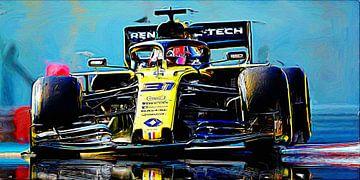 Esteban Ocon - Welkom in Renault! van Jean-Louis Glineur alias DeVerviers