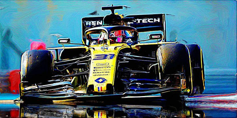 Esteban Ocon - Willkommen bei Renault ! von Jean-Louis Glineur alias DeVerviers