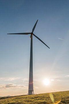 Windturbine / Windenergie van Felix Brönnimann