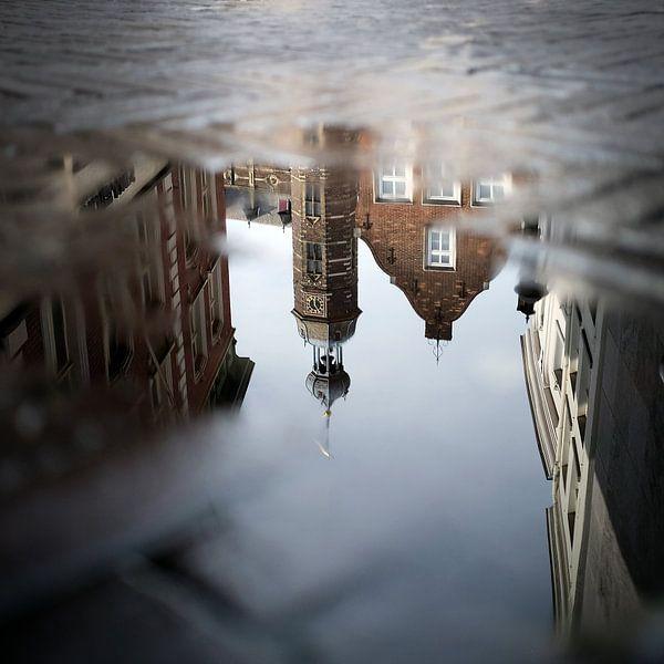 Reflection (Venlo stadhuis) van Eric Sweijen