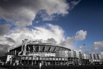 Amsterdam ArenA Blauwe lucht von PIX URBAN PHOTOGRAPHY