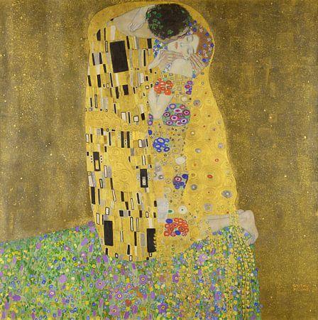 Der Kuss (Gustav Klimt), 1907