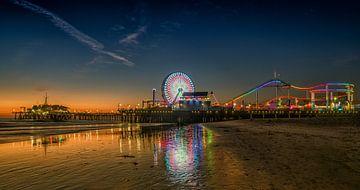 Santa Monica Pier sunset von Reinier Snijders