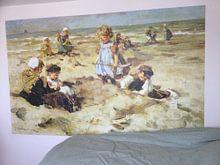 Kundenfoto: Kinder am Strand - Johannes Akkeringa, auf fototapete