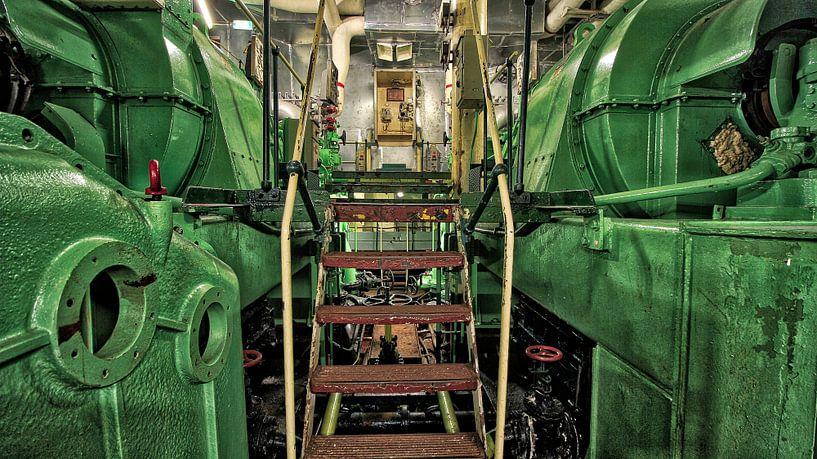 Machine kamer van Maurice Hoogeboom