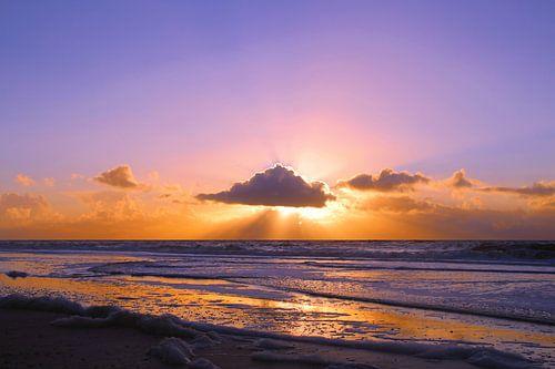 Sonnenuntergang am Strand von Steffi Flei