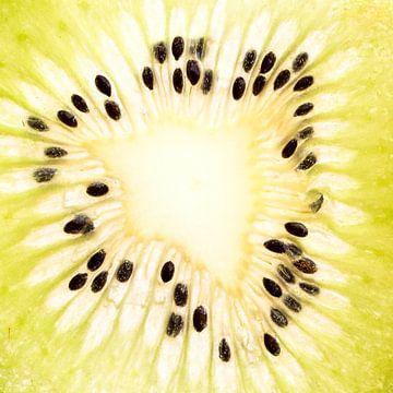 coupe transversale du kiwi sur Klaartje Majoor