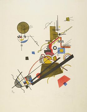 Freudiger Aufstieg, Wassily Kandinsky