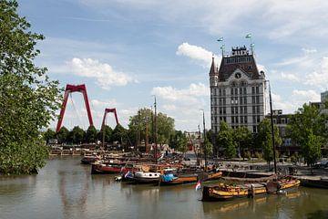 Oude haven Rotterdam van Gertjan Hesselink