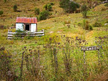 Eine verlassene Scheune im ländlichen Neuseeland von Rik Pijnenburg