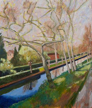 Lente van Antonie van Gelder Beeldend kunstenaar