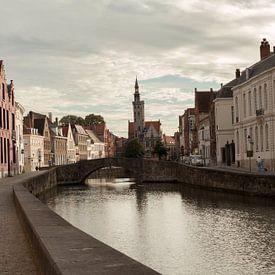 La ville de Belgique, ses canaux, son centre historique, sa cathédrale pour des reproductions d'art de qualité, grand format et sur-mesure